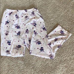 Fleece Snowman Pants